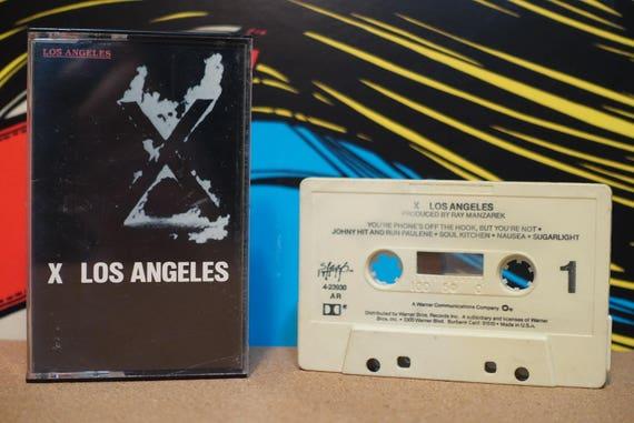 Los Angeles by X Vintage Cassette Tape