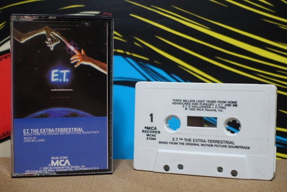 E.T. The Extra-Terrestrial (Music From The Original Motion Picture Soundtrack) by John Williams Vintage Cassette Tape