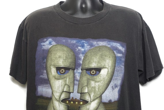 1994 Pink Floyd Vintage T Shirt Division Bell North American Tour Band Tee  2-Sided Original 90s Concert T-Shirt