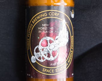 Craft Beer Candles - Three Floyds Zombie Dust, Space Station, Gumball Head, Gift for Dad, Gift for Him