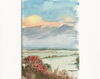 """5x7 Limited Edition Print of """"Scenic Overlook"""""""