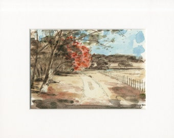 """5x7 Limited Edition Print of """"Pasture Path"""""""