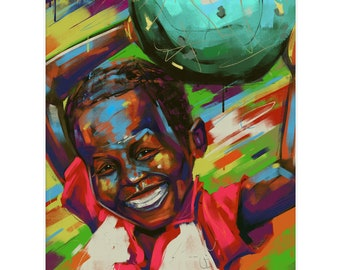 """8.5x11 Limited Edition Print of """"Mr. Smiles"""""""