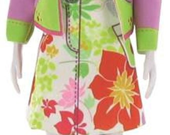 Candy Flower - make your own dolls clothes
