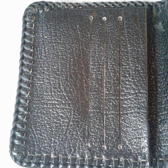 VINTAGE Handmade OSTRICH WALLET, birthday gifts, … - image 4