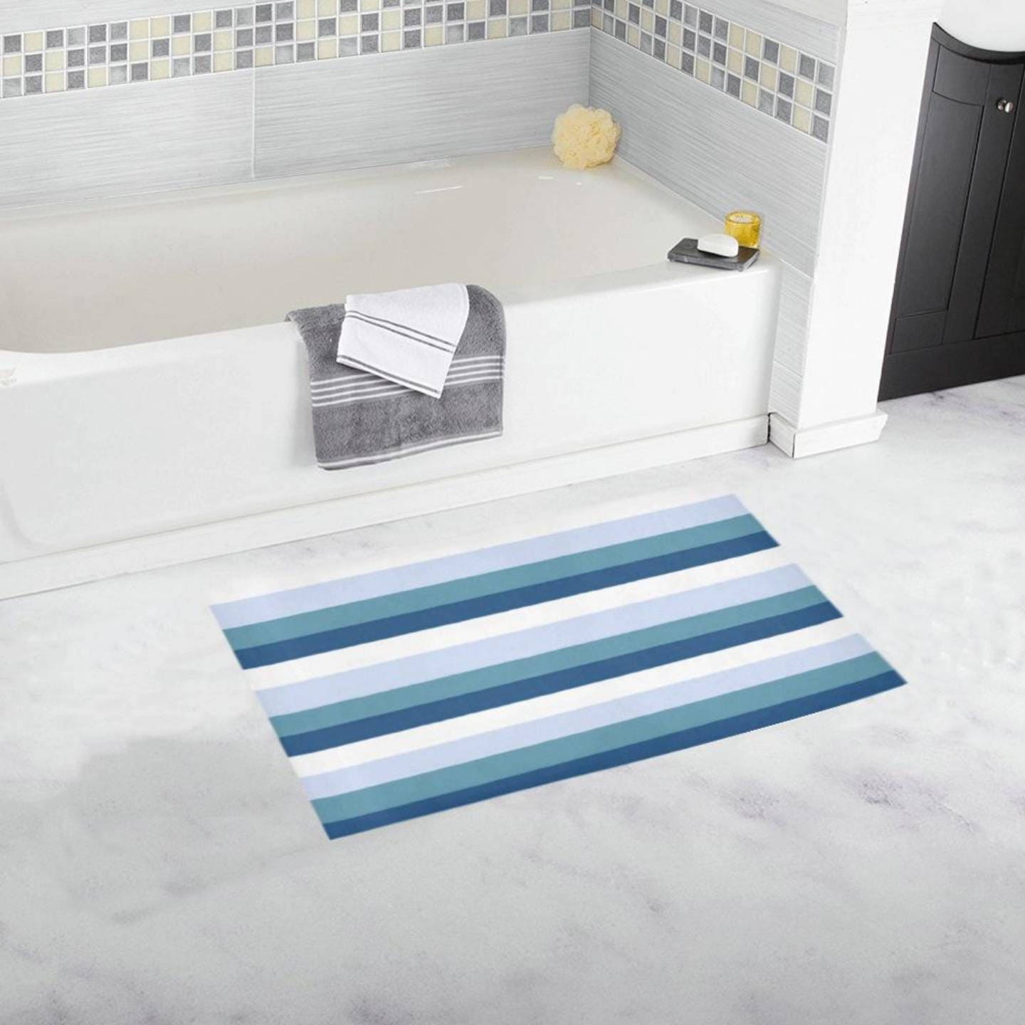 Bath Rug 16 X 28 1 Other Size & 4 Colors FREE