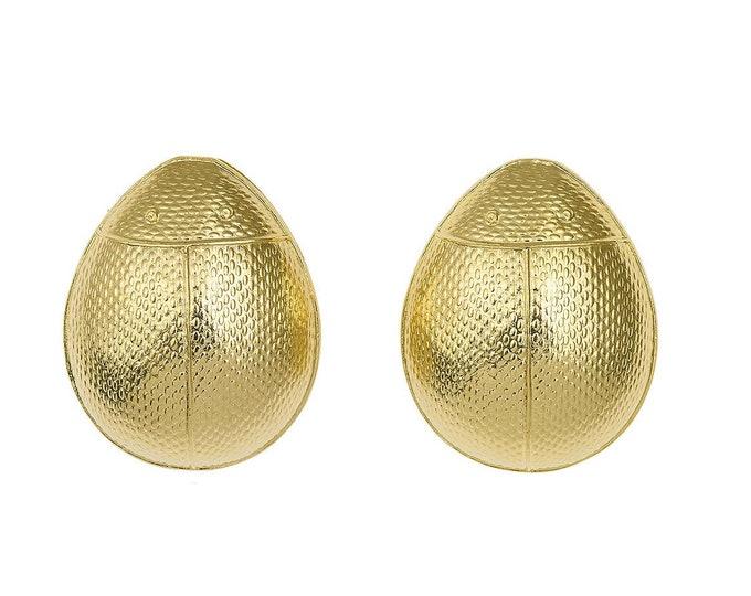 Mia beetle earrings