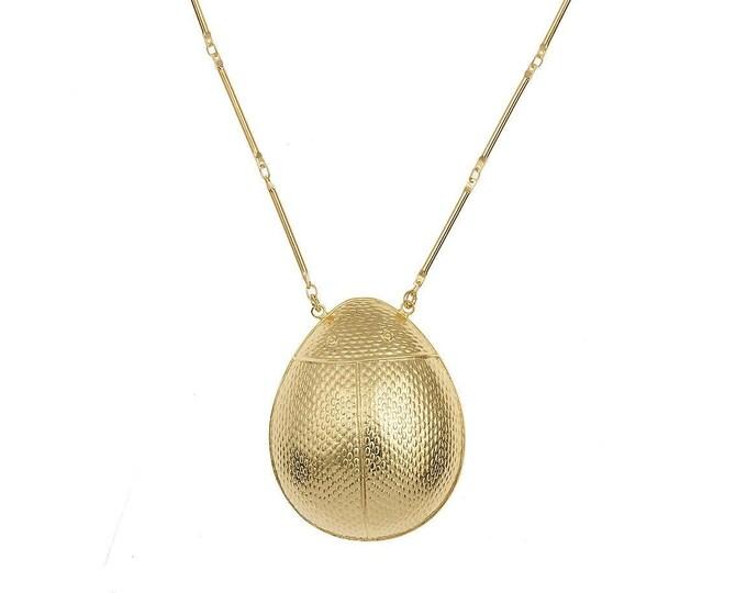 Beetle necklace Mia