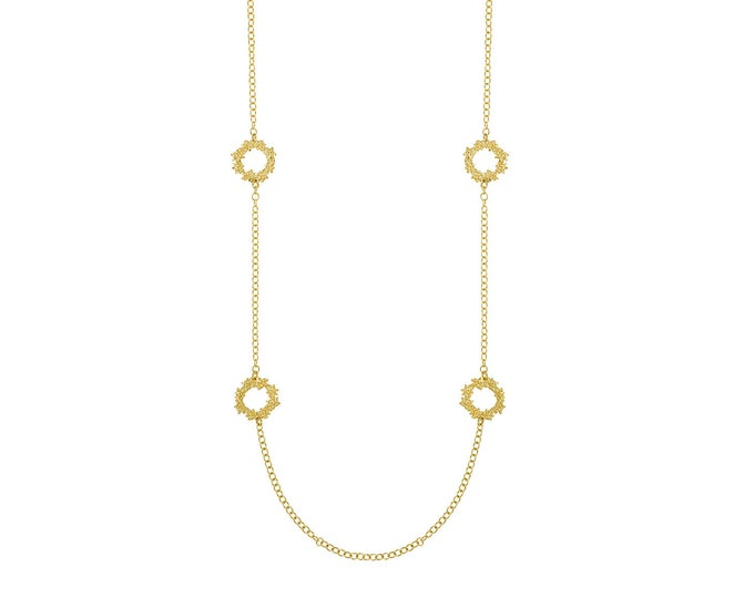 Greta gold necklace