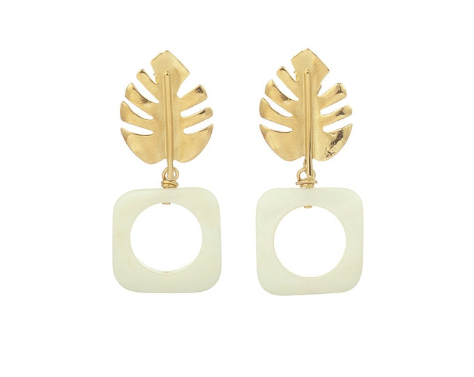 Mother of pearl Tamara earrings