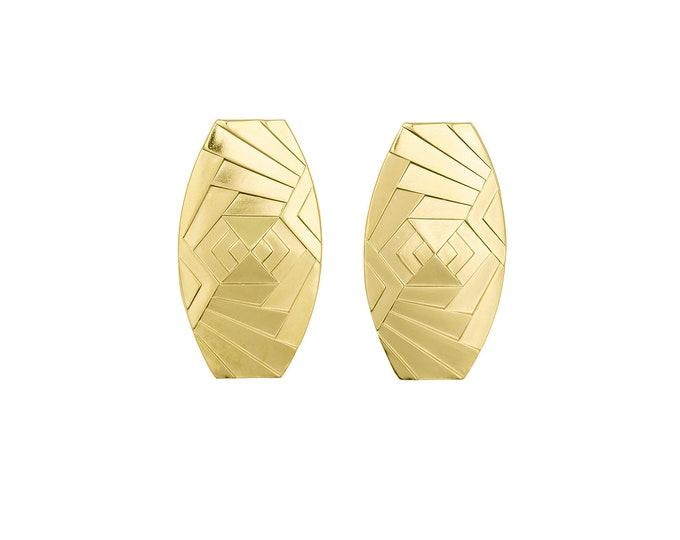 Golden Nancy earrings