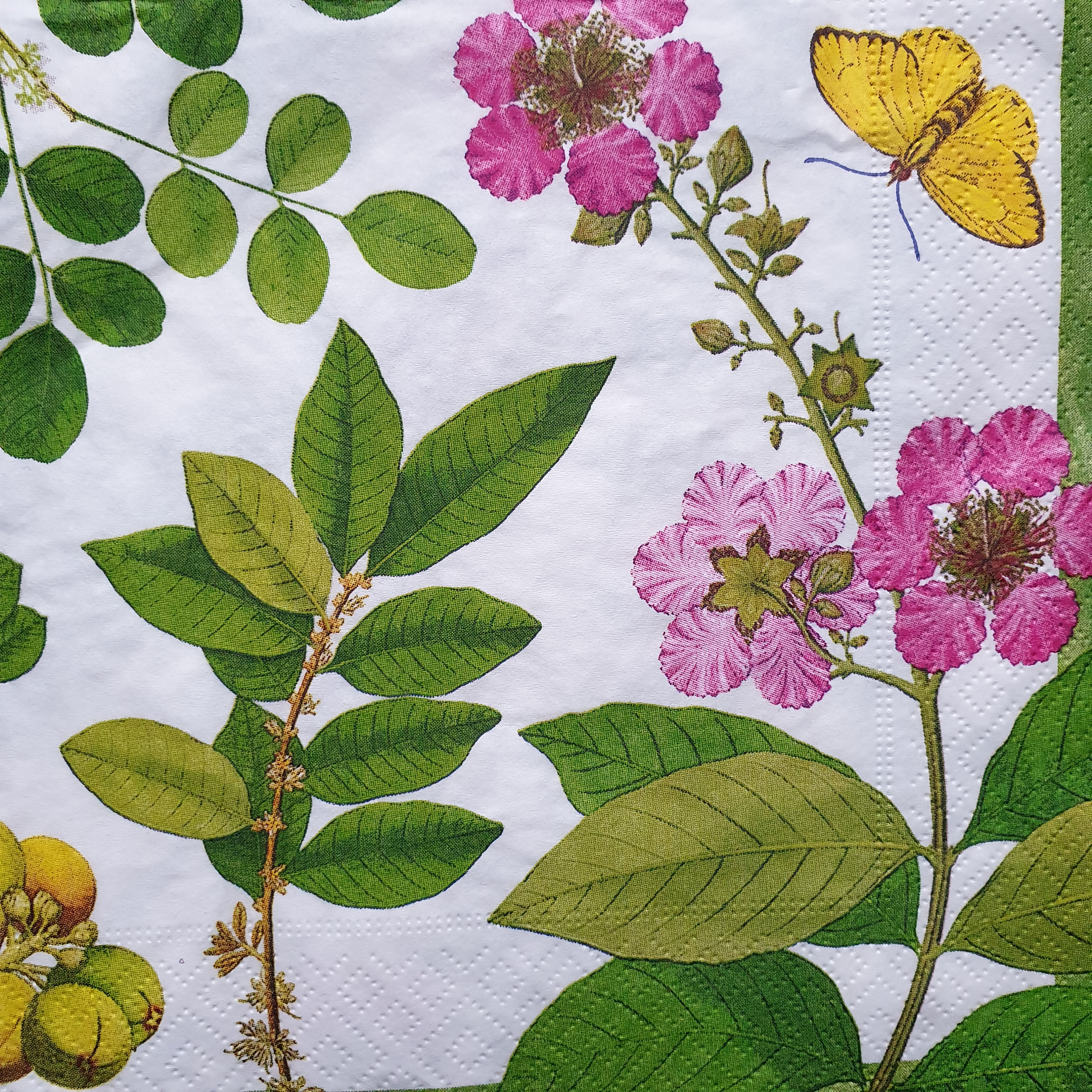 4 Vintage Paper Napkins for Decoupage Lunch Decopatch Craft Party Time Celebrate
