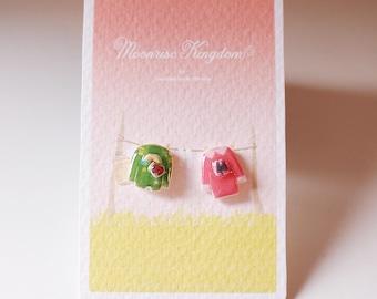 Sam & Suzy Earrings - Moonrise Kingdom Earrings / Wes Anderson / Jewelry / Wes Anderson Earrings
