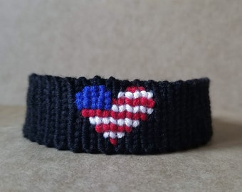 USA Red White and Blue Bracelet Collection
