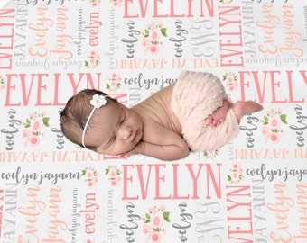 15b26f5339f0 Personalized Baby Blanket
