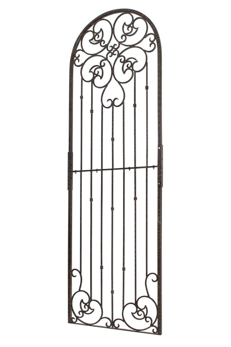 Metal Garden Trellis, Indoor Outdoor Screen, Wrought Iron, H Potter, Wall  Decor, Heavy Scroll, Patio, Deck, Outdoor Room, Yard Art Garden L