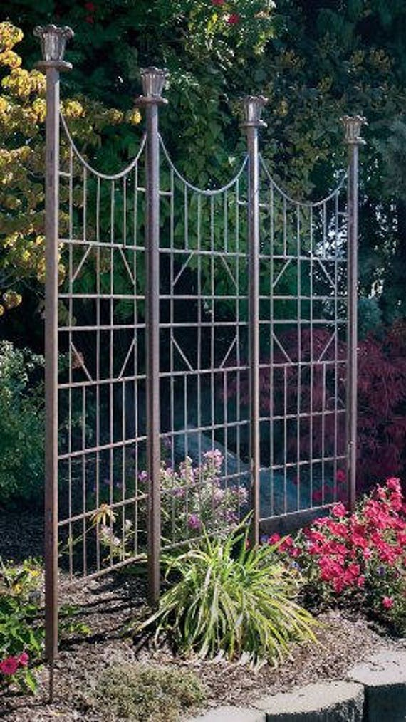 Charmant Metal Garden Trellis Tall Large Trellis Indoor Outdoor | Etsy