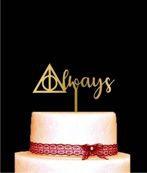 Harry Potter Kuchen Deckel Fur Hochzeit Immer Kuchen Topper Etsy
