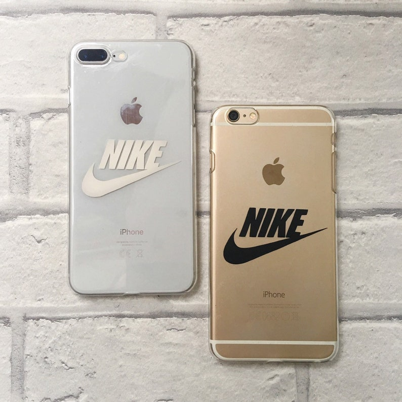 Nike clear phone case  phone cover  hard or protective gel image 0