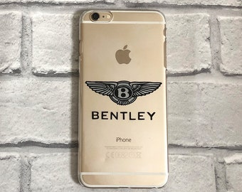 Bentley clear phone case hard or protective option for iPhone and Samsung 6 / 7 / 8 / SE / Plus / X / XS Max / 11 Pro / 12 / S9 / S10 / S20