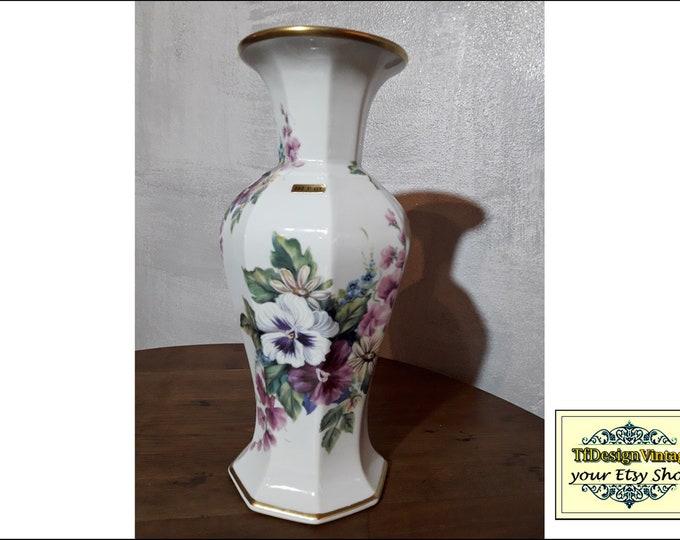 Porcelain Vase White, Porcelain vase flowers, Porcelain vase design, Porcelain vase vintage, Porcelain vase gift,Vintage porcelain vase 30cm