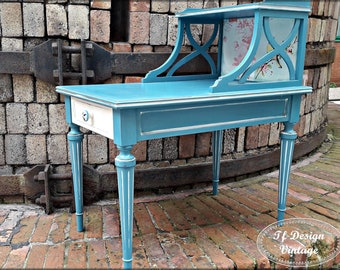Side table blue,Wooden side table,Rectangular end table,Wooden table sofa,Auxiliary wooden table,Side table with drawer,Wood table alongated