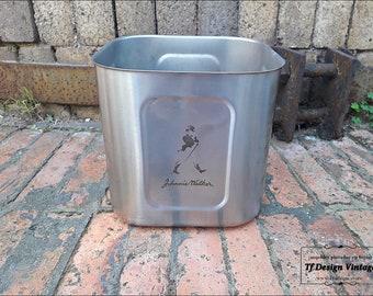 Johnnie Walker Stainless Steel Ice Bucket, Johnnie Walker Whiskey Ice Bucket, Johnnie Walker collection, Johnnie Walker Bottle Cooler