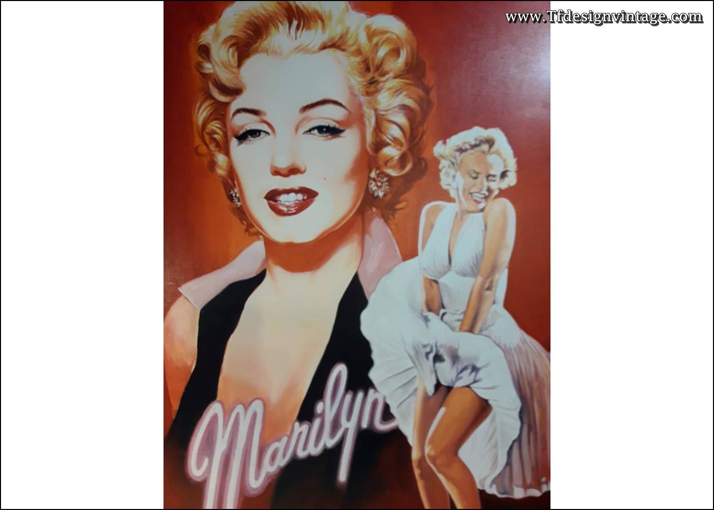 Contemporáneo Enmarcada Marilyn Monroe Ornamento - Ideas de Arte ...