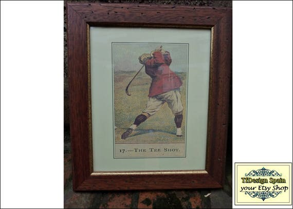Golf picture frame, Golf art and posters, Golf prints and posters, Vintage golf posters, Golf classic posters, Golf exercise poster vintage