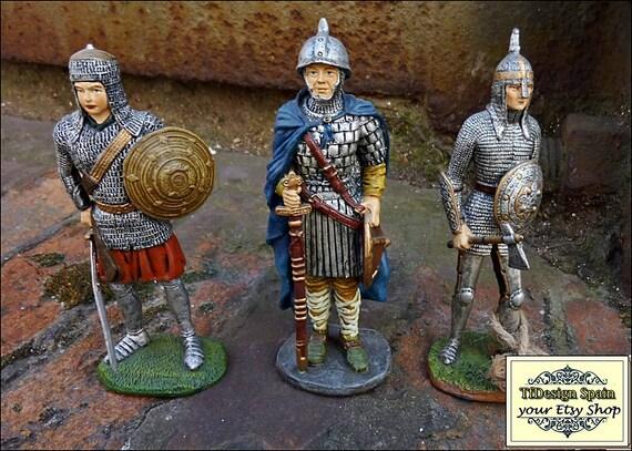 Soldiers, Warriors, Metal soldiers figurines, Small soldiers figures for sale, Art figure soldiers, Warriors figures, Warriors medieval 11cm