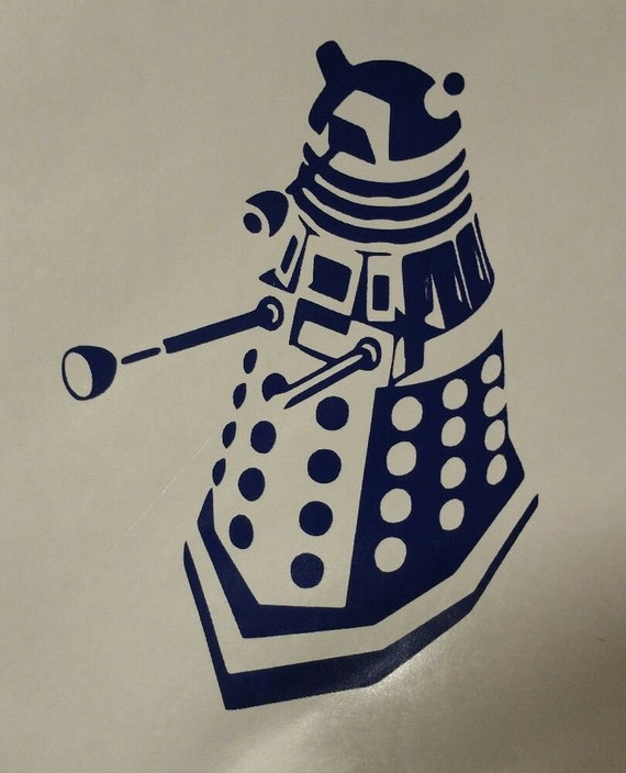 Doctor Who Adipose Baby Outline  Vinyl Decal Sticker for Car Laptop or Wall