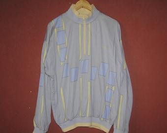 bd7934cc1fb8 Vintage ADIDAS 1990s 1980s Half Zipper sweater Large   1990s   Vintage  Adidas jacket   outdoor   Tennis wear ivan lendl stefan edberg