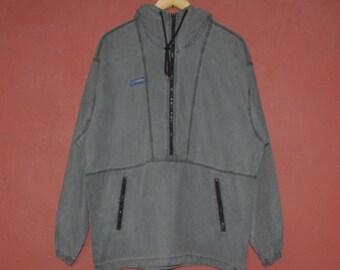 Jahrgang JACK WOLFSKIN 1990er Jahre Fleece Oberbekleidung Größe klein 1990er Jahre Fleece Pullover Shirt Vintage Winter tragen Warm Up Kleidung