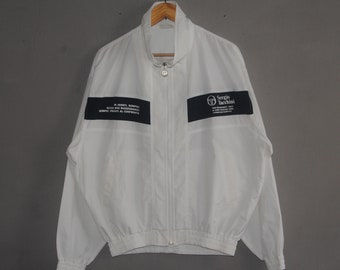 5033fc5fb1b Vintage SERGIO TACCHINI classic from 1990s sweater size Large   90s Casual  Tennis Football steetwear sweater   Large windbreaker jacket