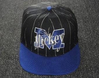 aedf565d1ba Vintage MICKEY MOUSE 1990s Baseball hat cap Free size   Anime cartoon 1990s  cap   Walt Disney streetwear trucker cap