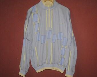 07a216eb225b6c Vintage ADIDAS 1990s 1980s Half Zipper sweater Large   1990s   Vintage  Adidas jacket   outdoor   Tennis wear ivan lendl stefan edberg