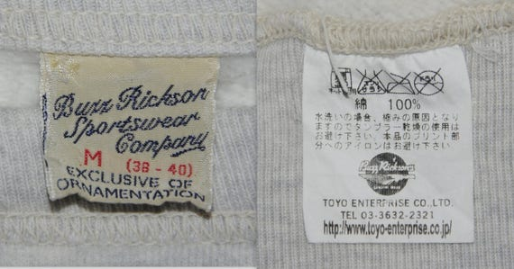 US RICKSON Toyo military Medium squadron tactical BUZZ size 44th Jumper fighter Sweatshirt Bats sweater Rare Enterprise army Vampire 61gxq