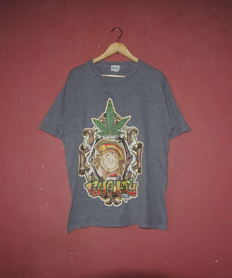 6d7112a2 Vintage RUDE BOY 1990s T shirt size Large / Streetwear raw   Etsy