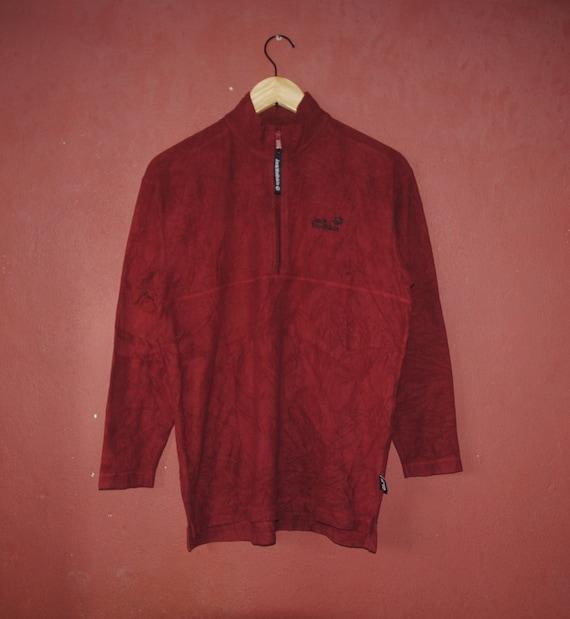 2c9d814976ea Vintage JACK WOLFSKIN 1990s Fleece Outerwear size Small