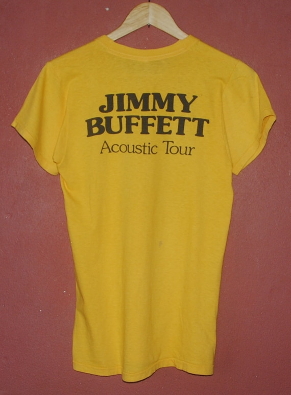 shirt American singer country Dog 1980 tee Roadmap Concert Hot Small amp; Vintage 80s pop tour Tour T rock western BUFFETT JIMMY Acoustic axwISq7Z