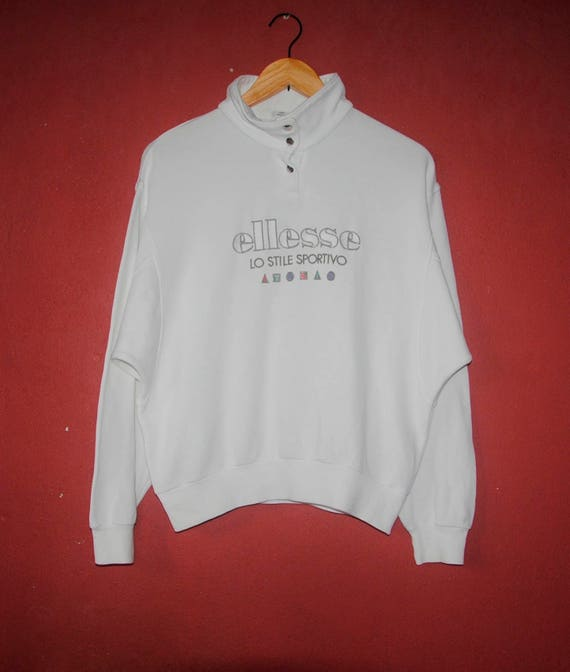 Ladies Vintage ELLESSE Tennis classic from 1990s sweatshirt   Etsy fa4a72a9b7