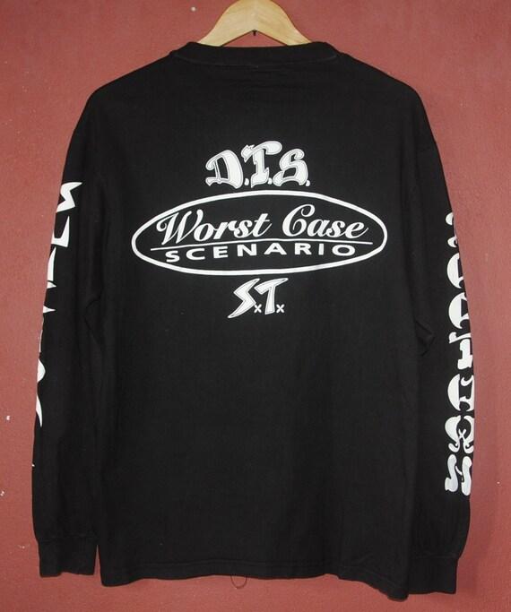 vintage 90s suicidal tendencies X dogtown worst case scenario American crossover thrash band album tour singles promo t-shirts