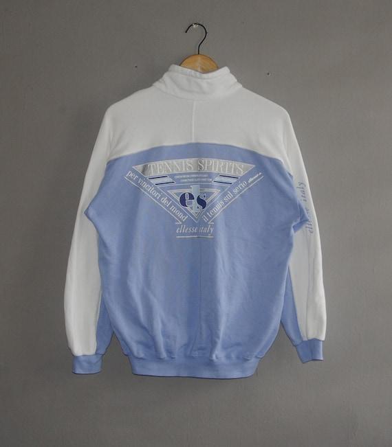 Vintage ELLESSE Tennis classic from 1990s sweatshirt size S-M   Etsy 360e8aeea9
