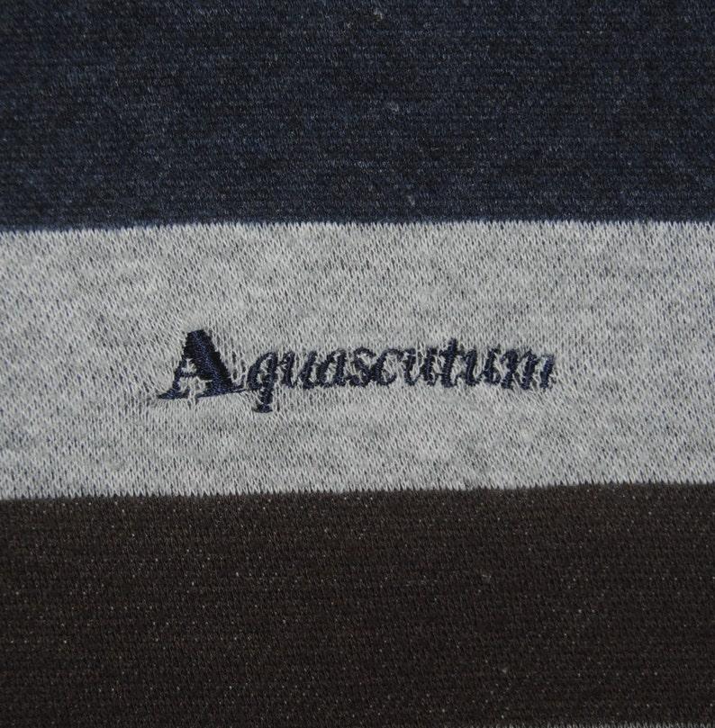 AQUASCUTUM Sweatshirt size Medium  Classic british designer Sweatshirt  Jumper  Pullover