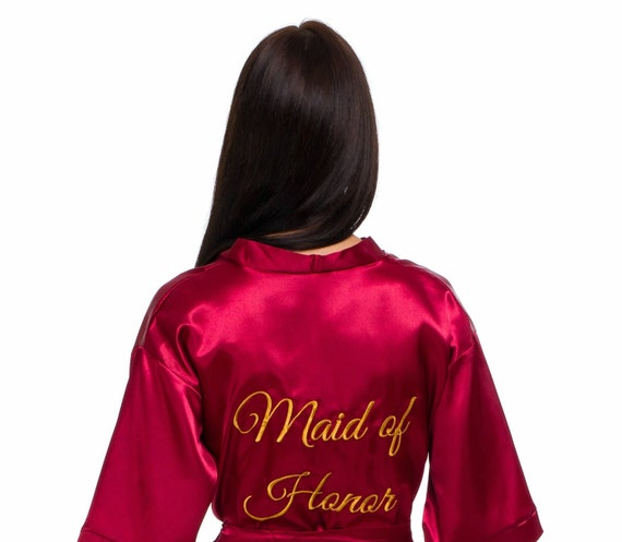 8 robes robes robes Flower robes set size Personalized Bride of Cheap Lace robes Bridesmaid 20 and robes girl robes Plus Under Satin pOqxtnwd