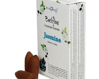 Jasmine Backflow Incense Cones