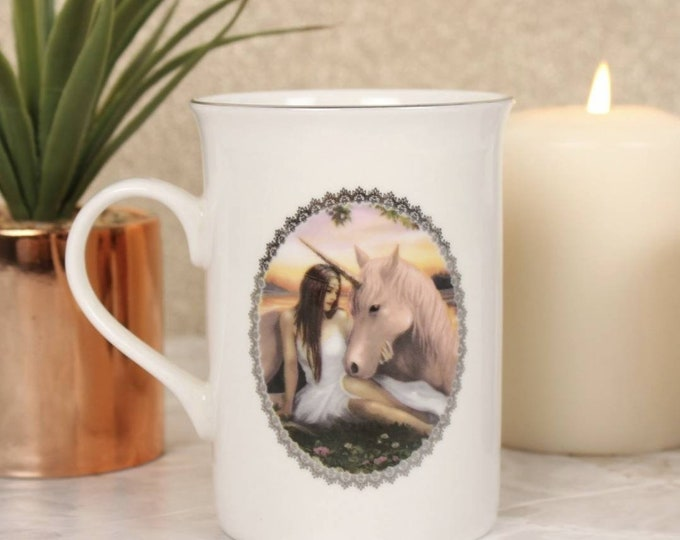 Pure Heart Mug By Anne Stokes