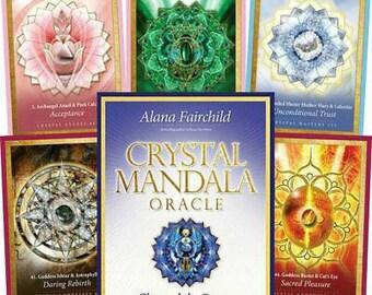 Crystal Mandala Oracle Card Deck By Alana Fairchild