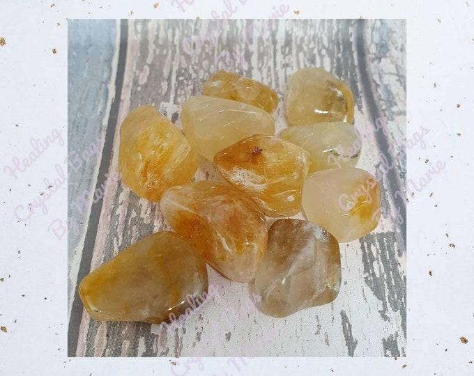Golden Healer Quartz Tumblestone