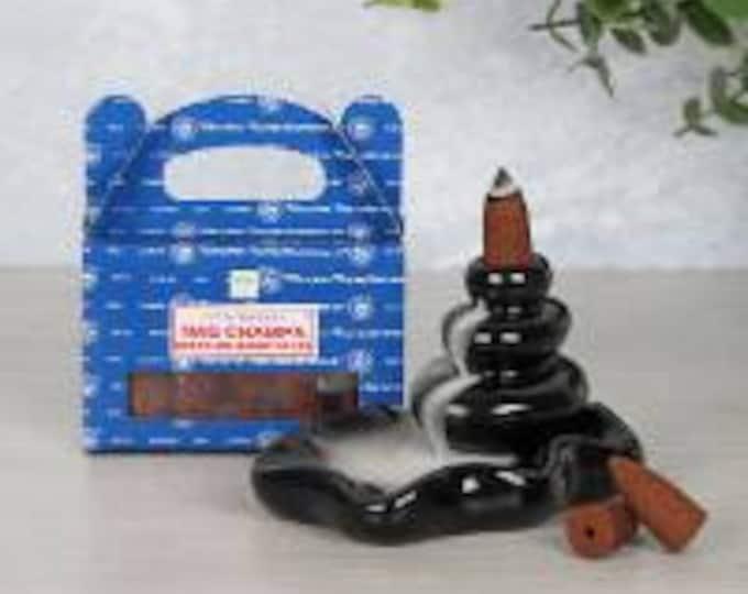 Satya Nag Champa Backflow Incense Cones